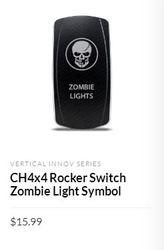 The Illuminated  rocker switch of 12v capacity presents its great user capacity
