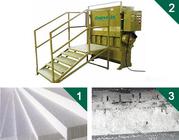 Good quality GREENMAX Foam Polystyrene Crusher