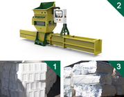 Styrofoam compactors of GREENMAX APOLO Series