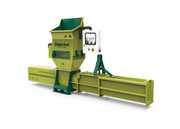 Styrofoam recycling with GREENMAX APOLO C200 compactor