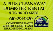 Dumpster Rental in Surrounding Vicinity