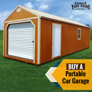 Why Georgia Yard Barns is the best place to buy Portable Garages?