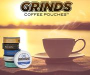 Grinds Coffee Pouches Black Coffee 10 Cans