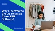 Manage E-Commerce with Cloud ERP Software